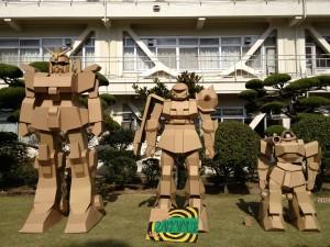 段ボールロボット