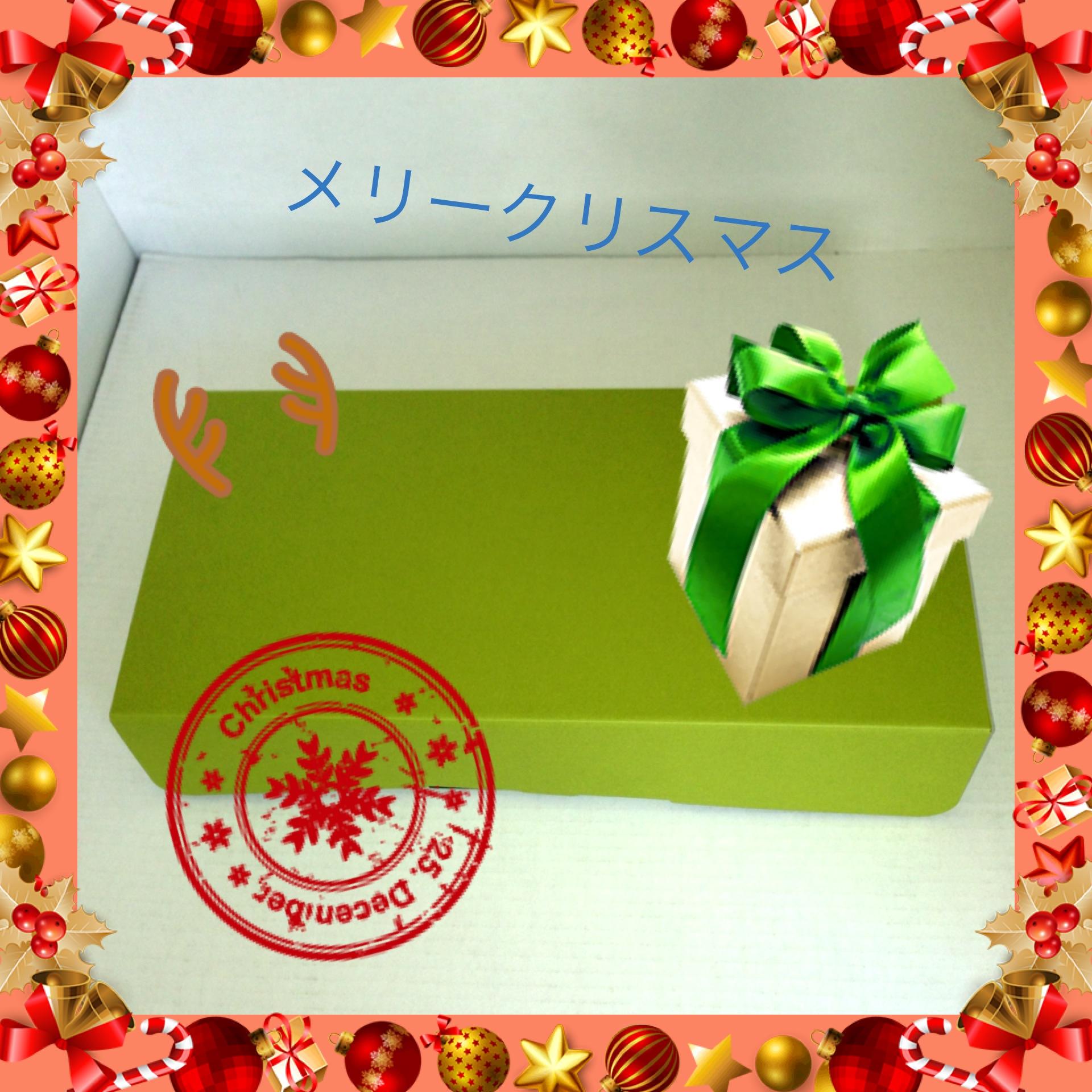 クリスマスギフト用段ボール