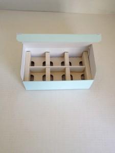 瓶を6個入れる箱