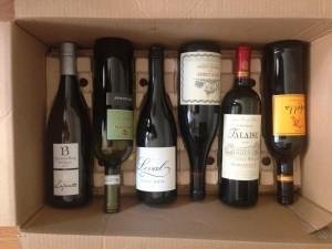 ワインの保存用段ボール