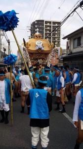 生矢神社 秋祭り
