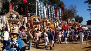荒川神社 小芋祭り