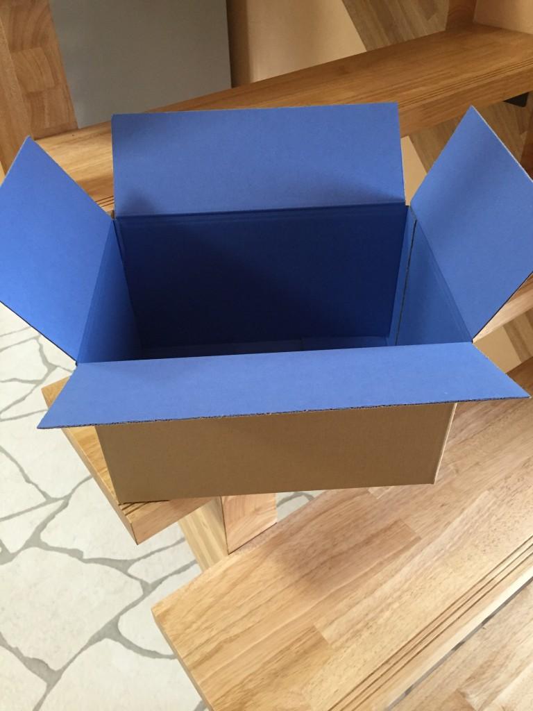 箱中がブルーの色つき