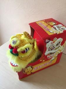 香港獅子舞おもちゃ