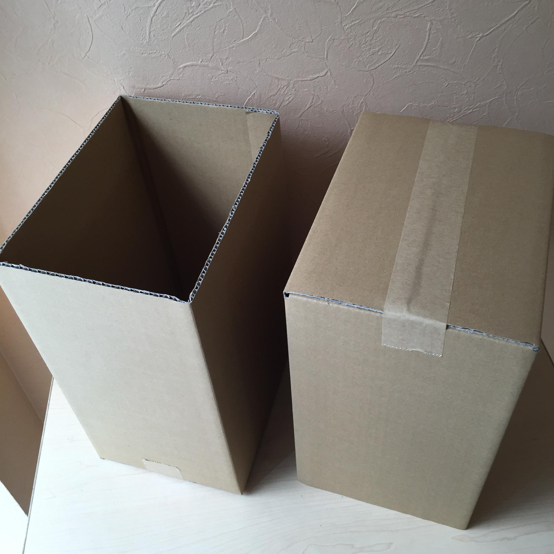 片方ふたなし みかん箱タイプダンボール