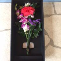 仏花用 カラー段ボール箱
