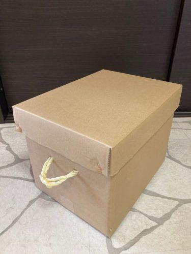 手提げ紐付き段ボール箱1